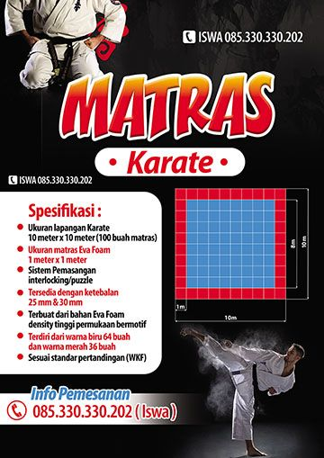 Jual Matras Karate Harga Grosir Pabrik Murah