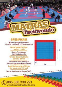 Jual Matras Taekwondo Harga Grosir Pabrik Murah
