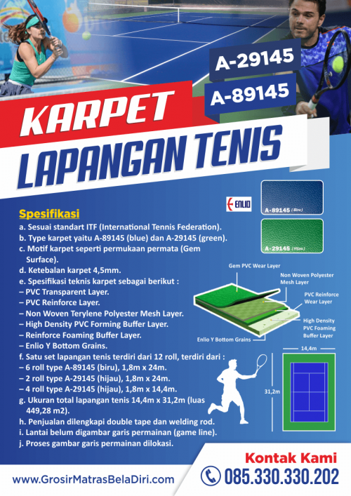 jual-karpet-lapangan-tennis-grosirmatrasbeladiri